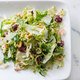 Brussels Sprout Salad with Warm Brown Butter Vinaigrette