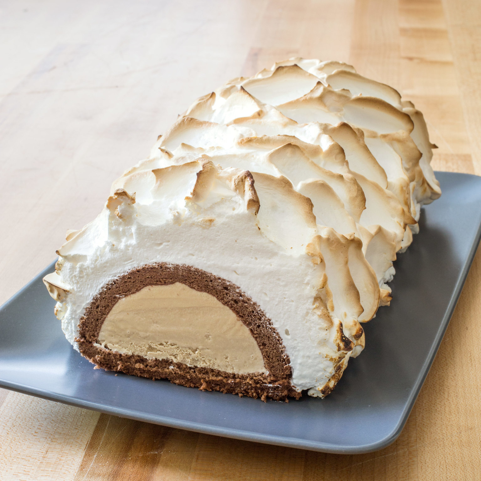 America S Test Kitchen From Cook S Illustrated Baked Alaska Showstopper