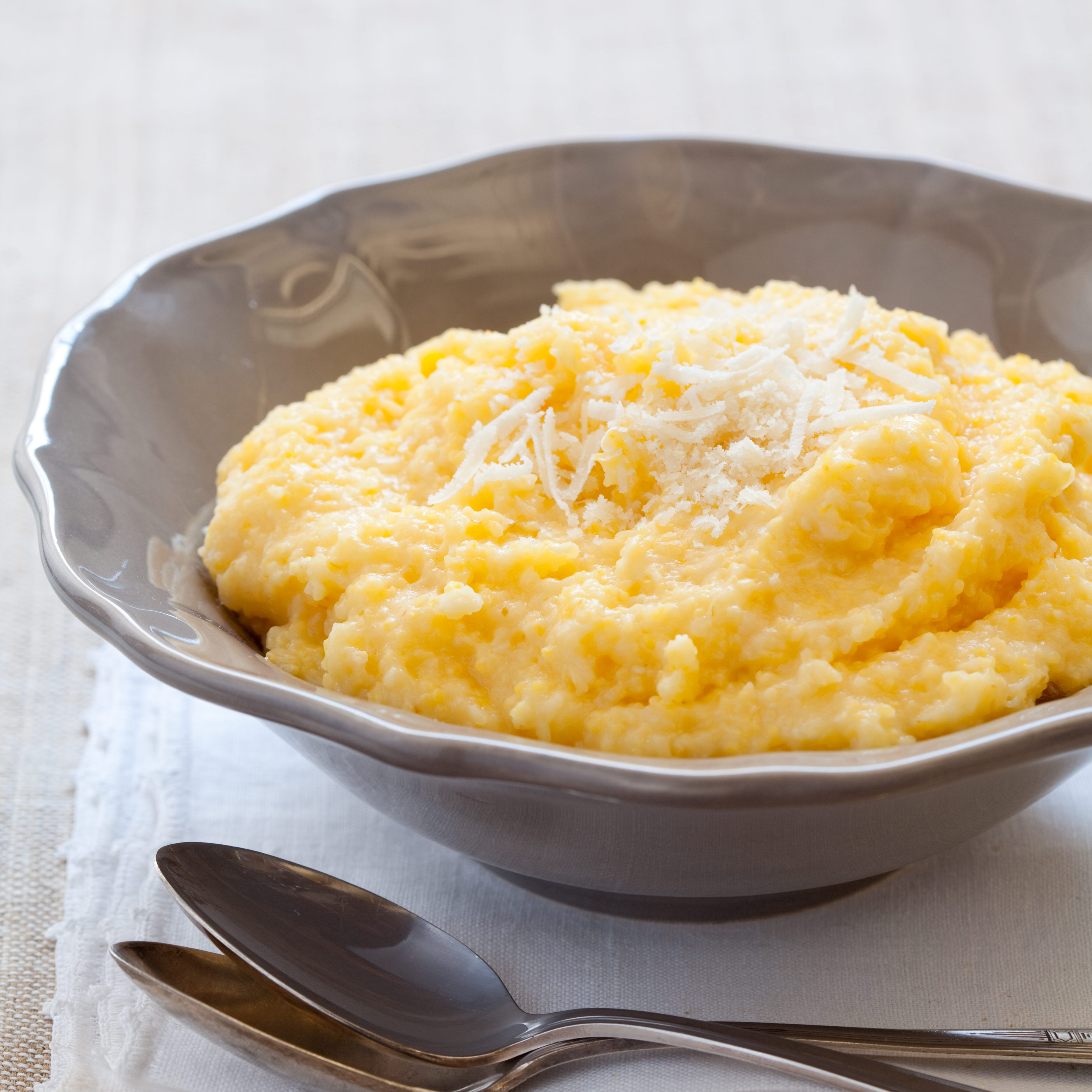 Creamy Parmesan Polenta America S Test Kitchen