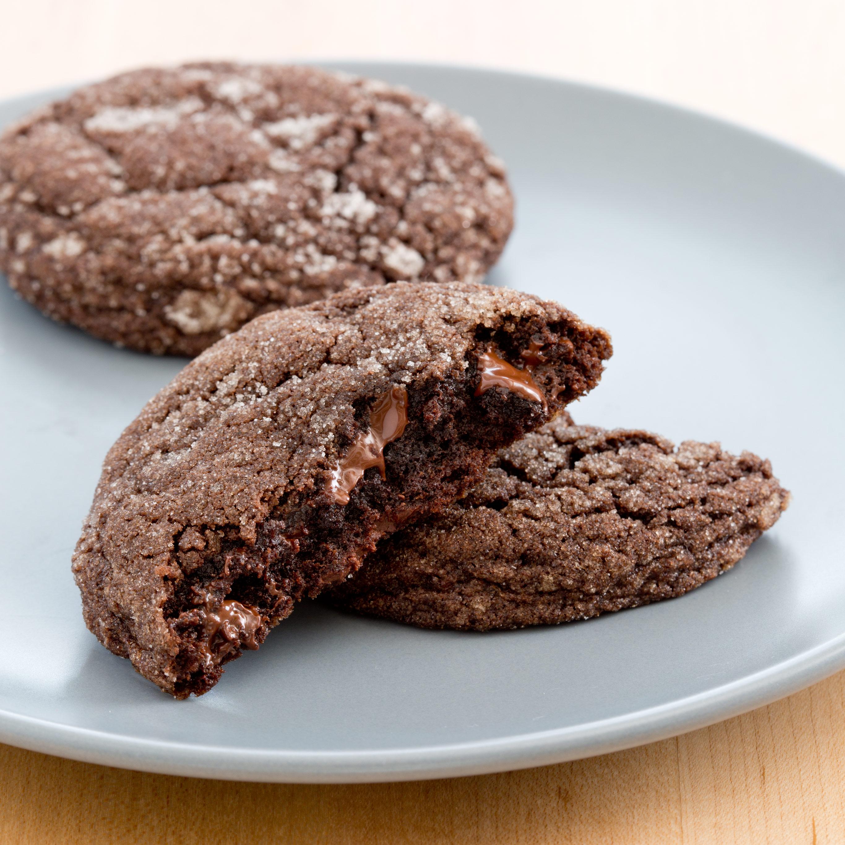 Chewy Chocolate Cookies Chewy Chocolate Cookies new foto