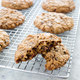 Chocolate-Chunk Oatmeal Cookies with Dried Cherries
