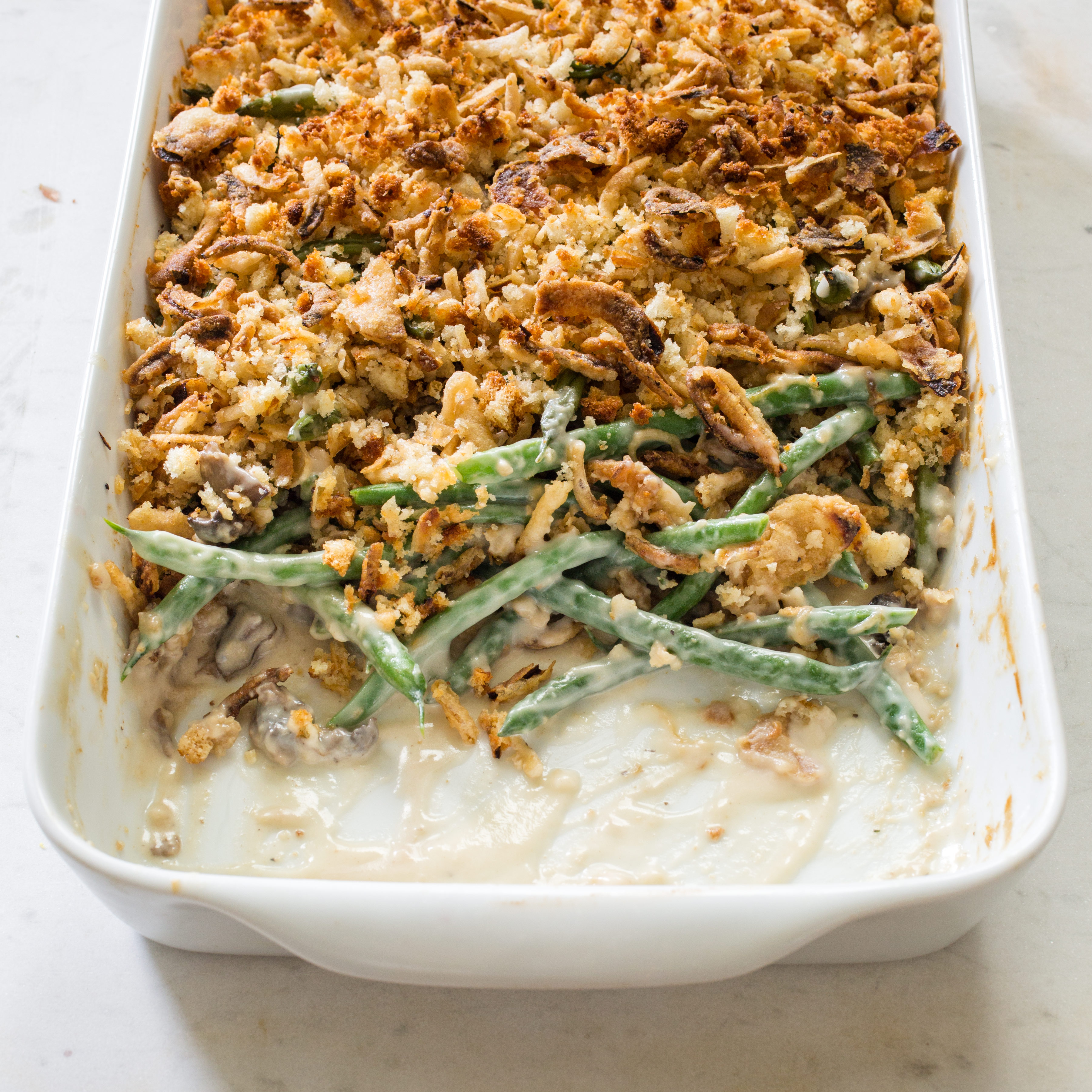 Upgrade Your Thanksgiving Green Bean Casserole Recipe