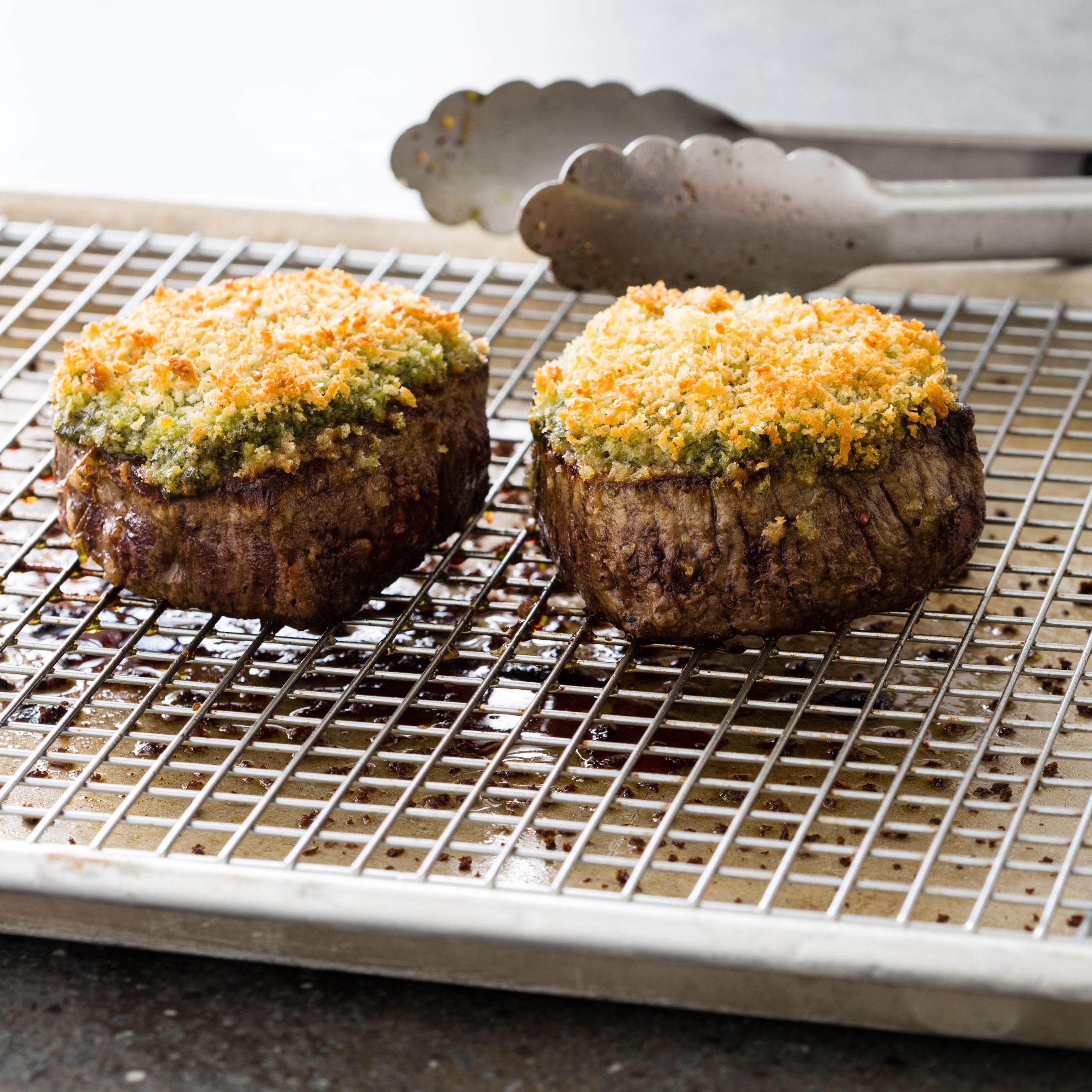 America S Test Kitchen Herb Crusted Beef Tenderloin