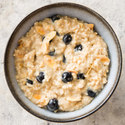 Blueberry and Almond Oatmeal