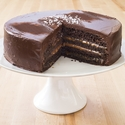 Chocolate-Caramel Layer Cake