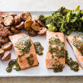 America S Test Kitchen Oven Roasted Whole Salmon Recipe