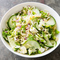 Orzo Salad with Cucumber, Red Onion, and Mint
