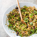 Orzo Salad with Arugula and Sun-Dried Tomatoes