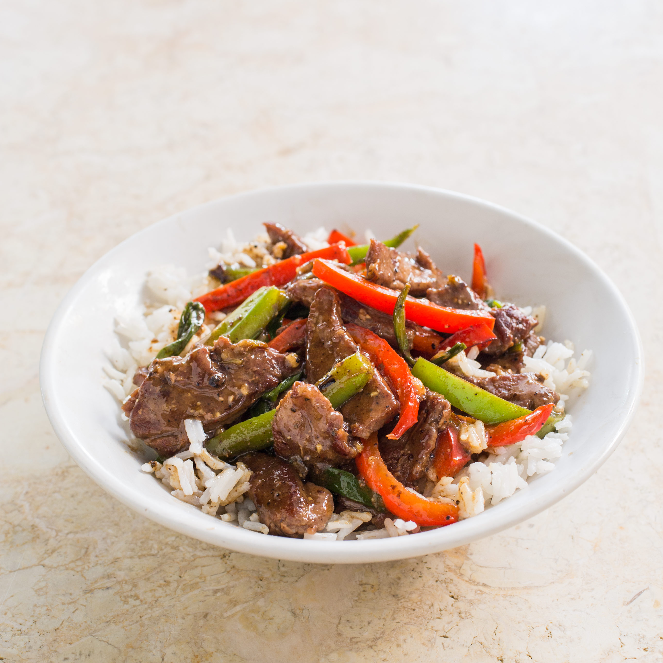 Watch Beef and Pepper Stir-Fry video