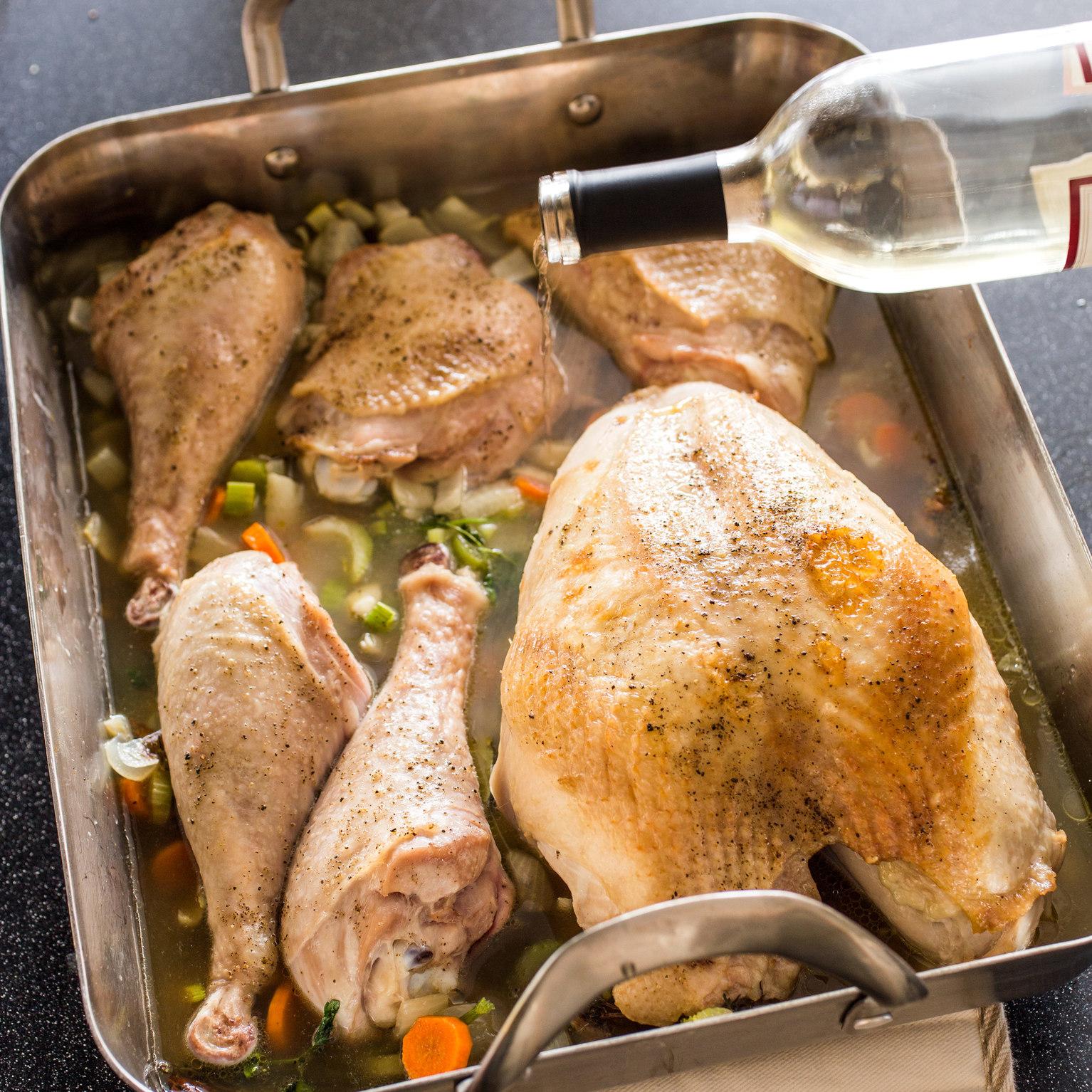 America Test Kitchen Braised Turkey