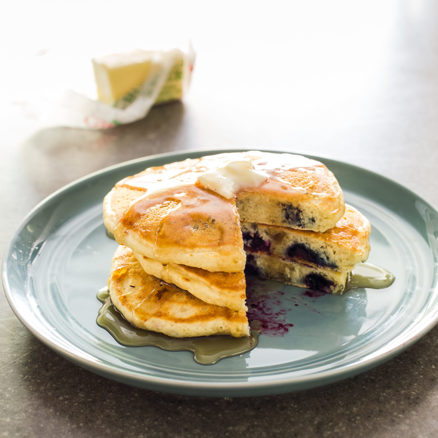America S Test Kitchen Blueberry Pancakes