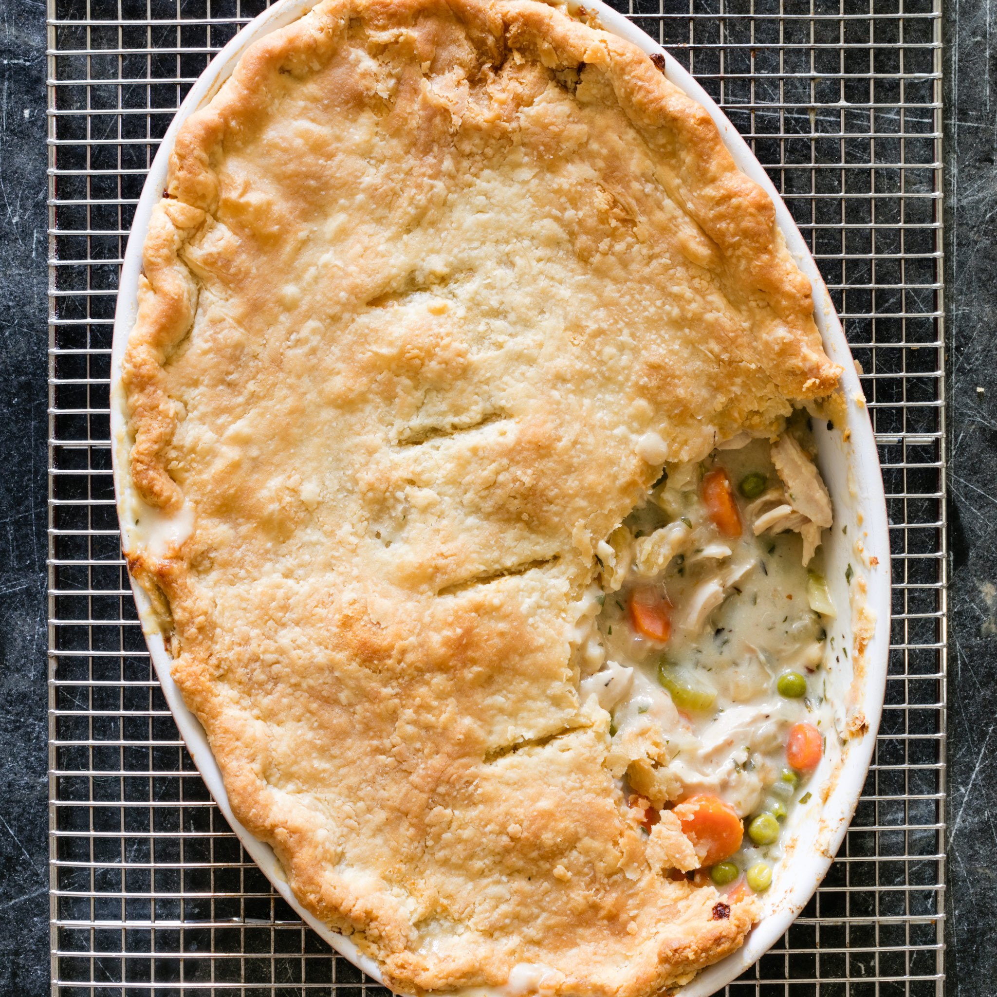 easy pot pie recipe simple chicken pot pie cook s illustrated 12459