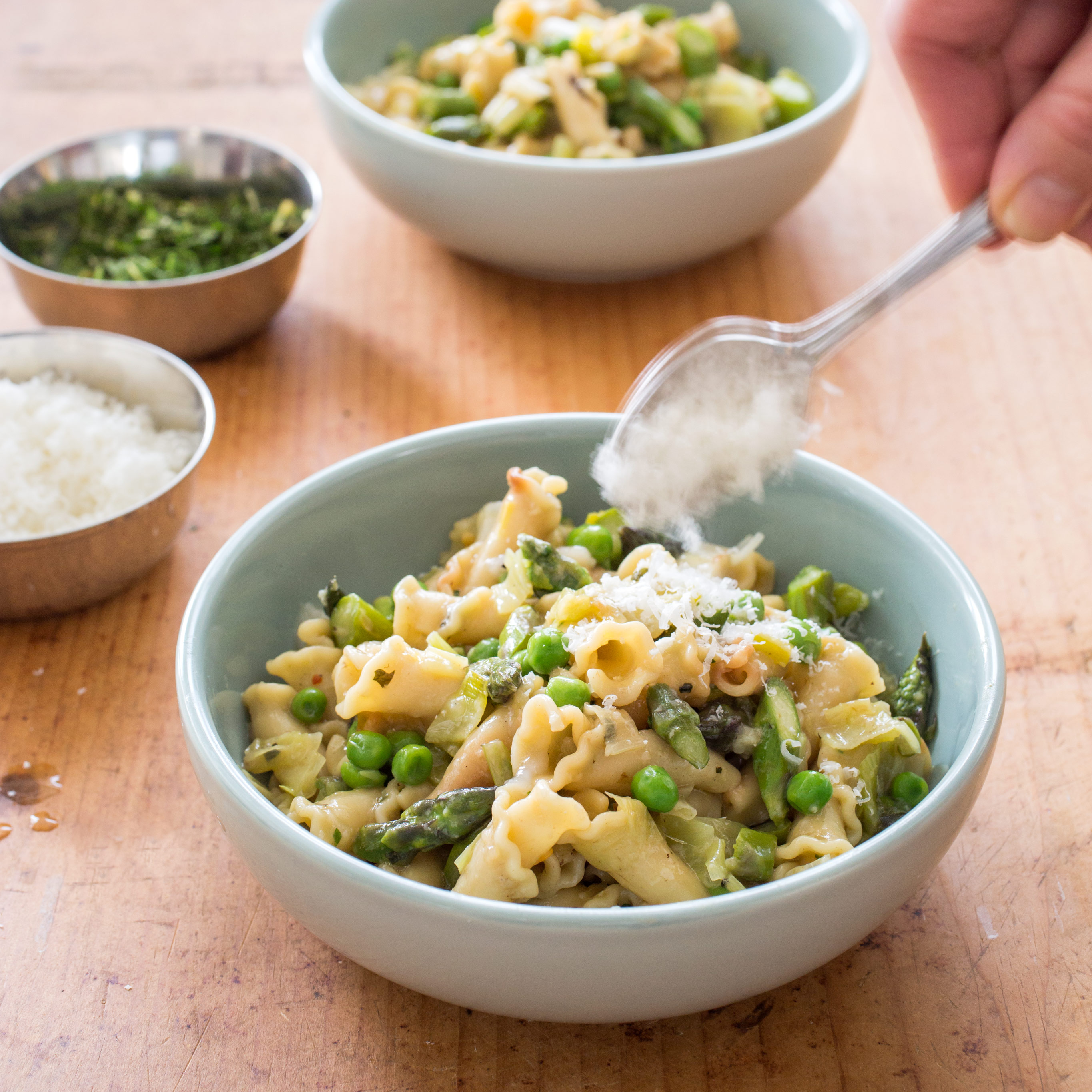 Spring Vegetable Pasta | America's Test Kitchen