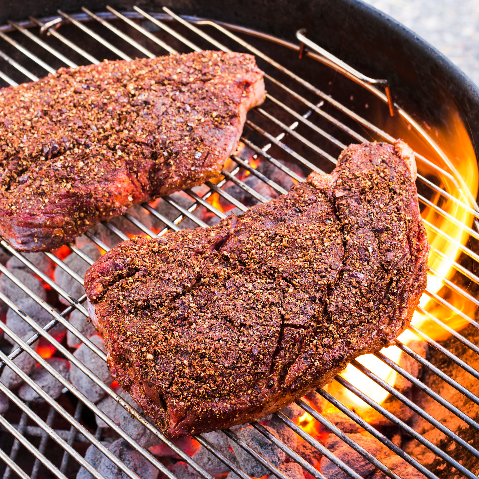 Grilled Steak with New Mexican Chile Rub