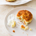 Cheddar and Scallion Mashed Potato Cakes