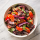 Grilled Onion and Tomato Salad