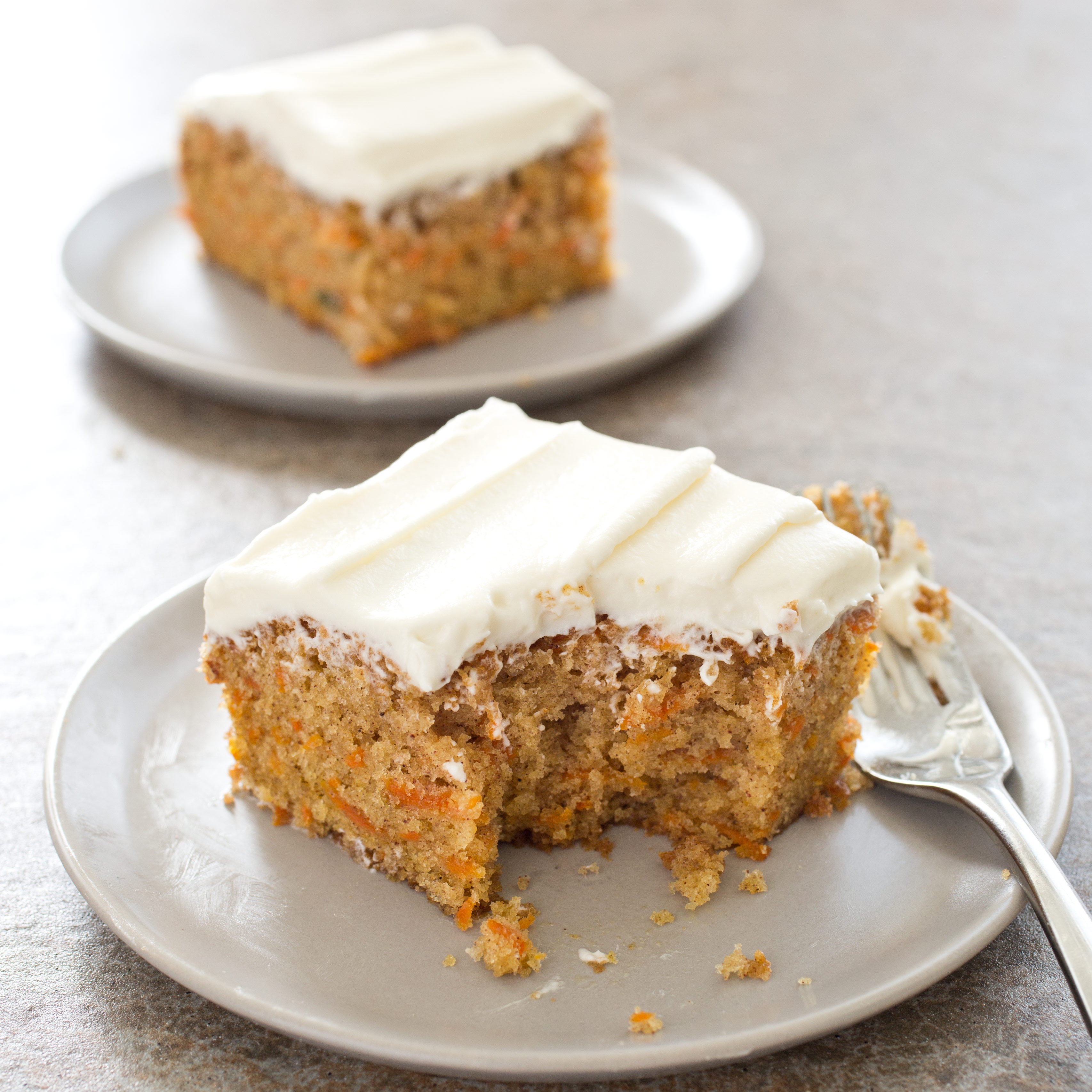 Simple Carrot Cake With Cream Cheese Frosting America S Test Kitchen