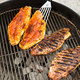Grilled Blackened Red Snapper - Charcoal