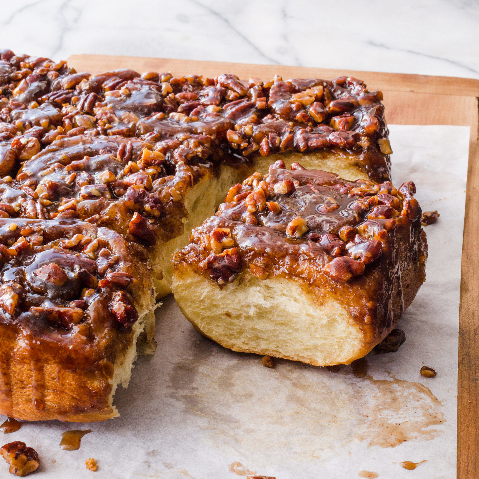 sticky buns from the ultimate sticky buns