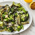 Grilled Broccoli with Lemon and Parmesan