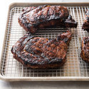Grilled Bourbon Steaks