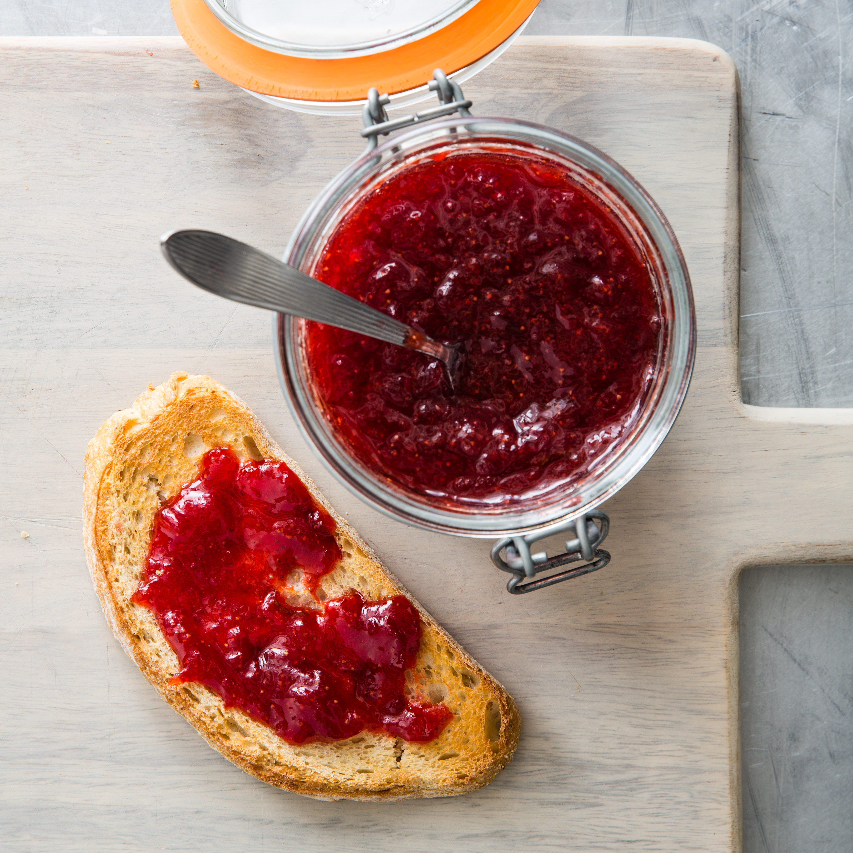 Classic Strawberry Jam America S Test Kitchen