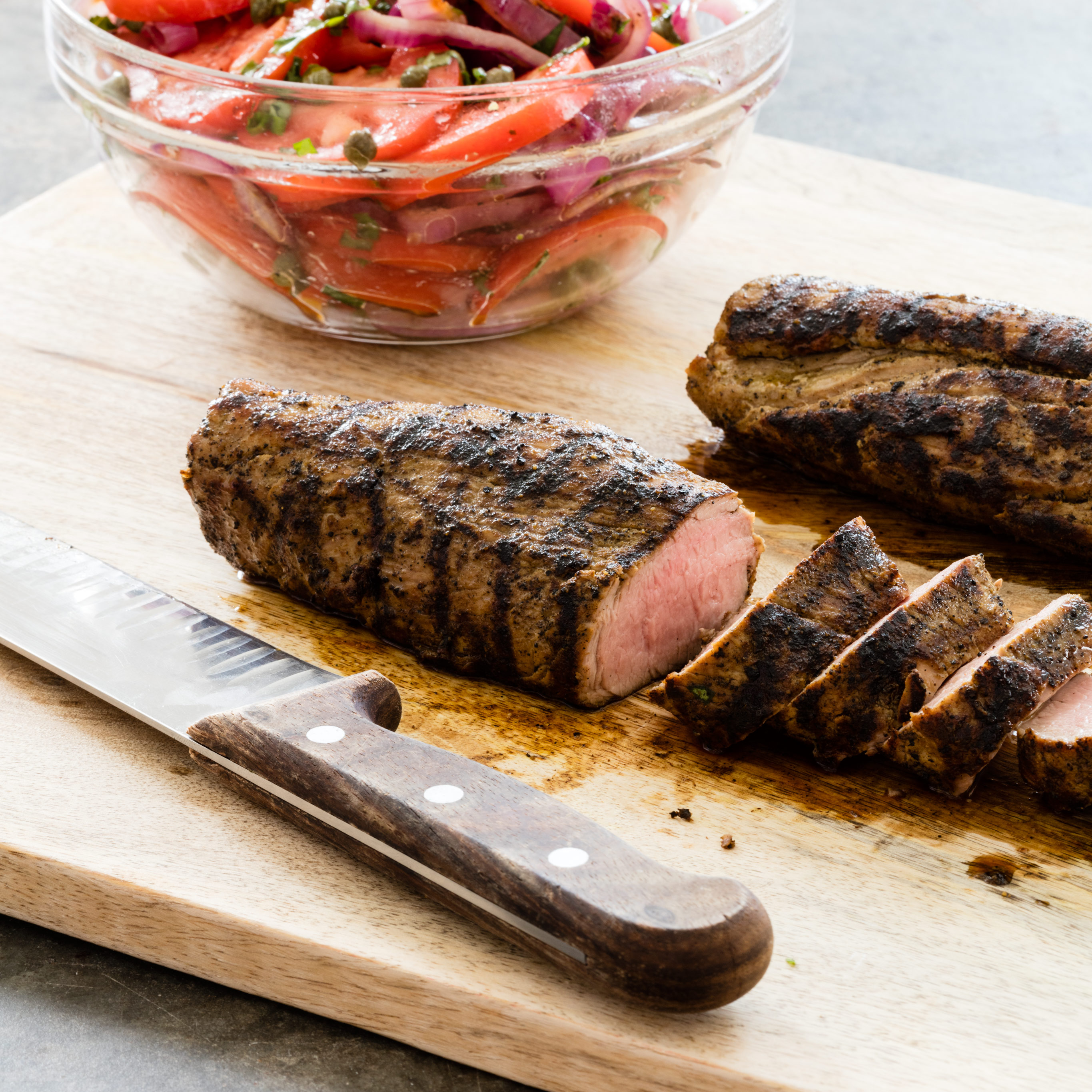 America S Test Kitchen Grilled Pork Tenderloin