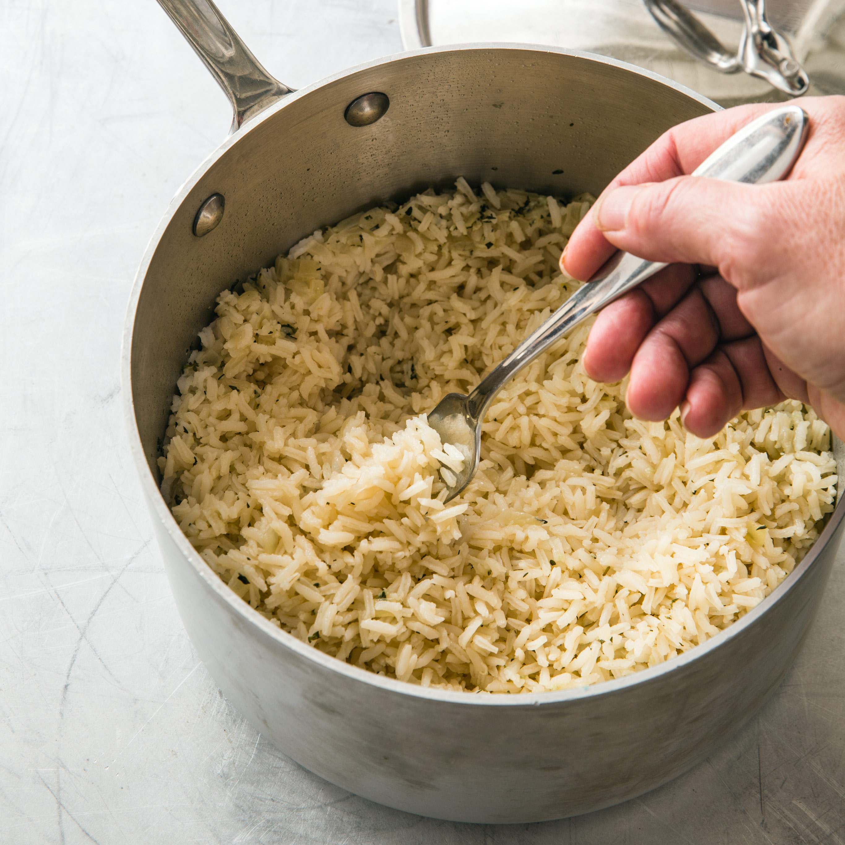basic rice pilaf cook s country