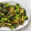 Grilled Broccoli with Sweet Chili Sauce