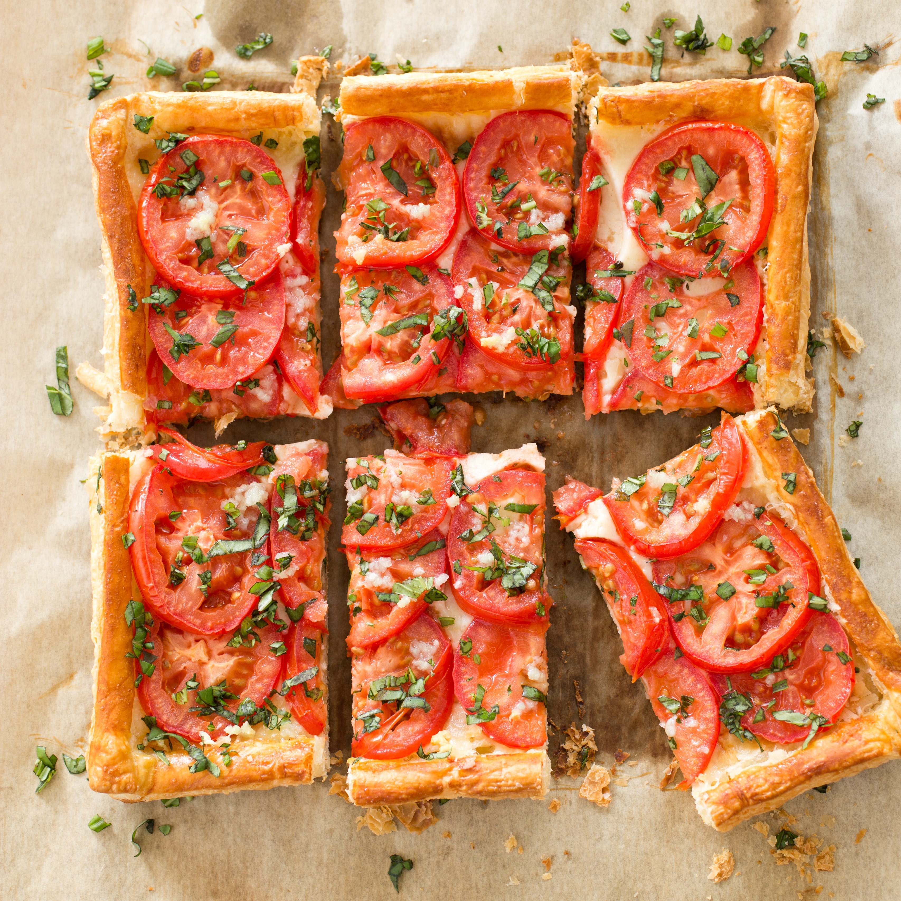 Tomato and mozzarella tart cooks illustrated forumfinder Choice Image