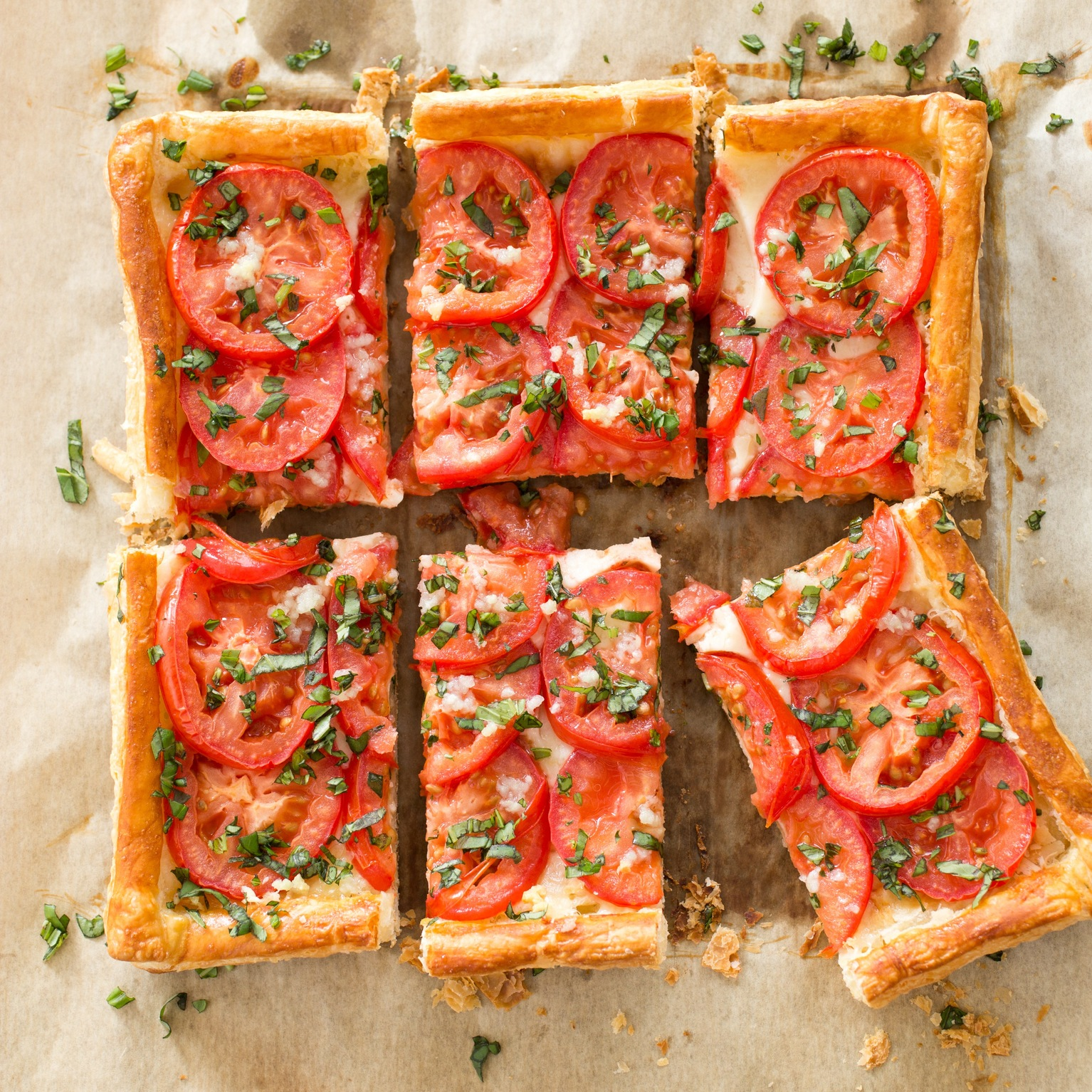 Tomato and Mozzarella Tart with Prosciutto | America's ...