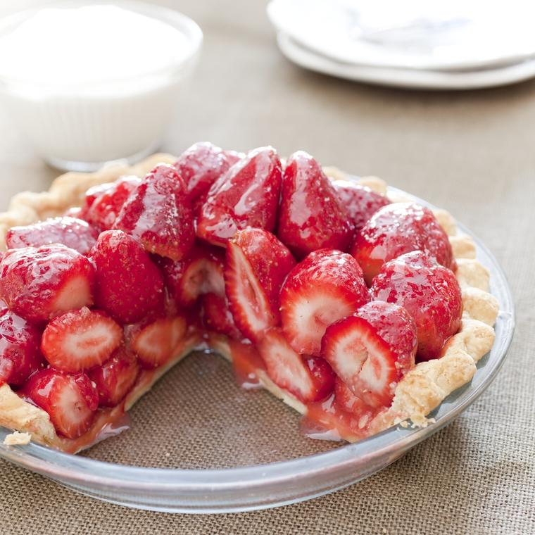 Fresh Strawberry Pie From Sweet Summer Endings