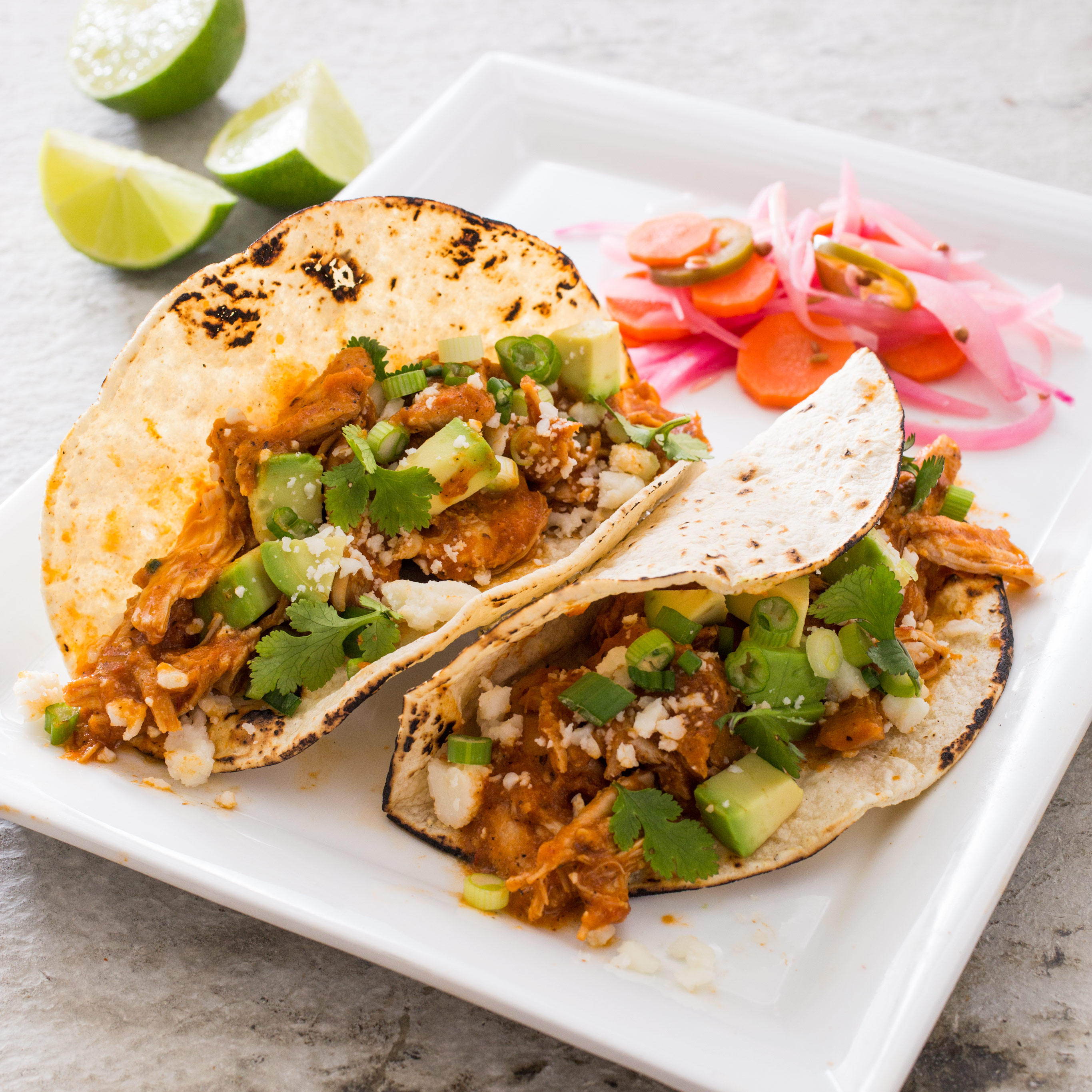 Shredded Chicken Tacos Tinga De Pollo Cook S Illustrated