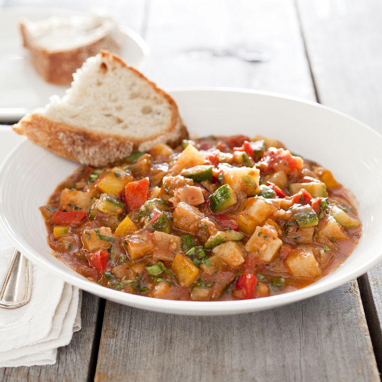 Italian Vegetable Stew (Ciambotta) From Chili and Stew Go Vegetarian