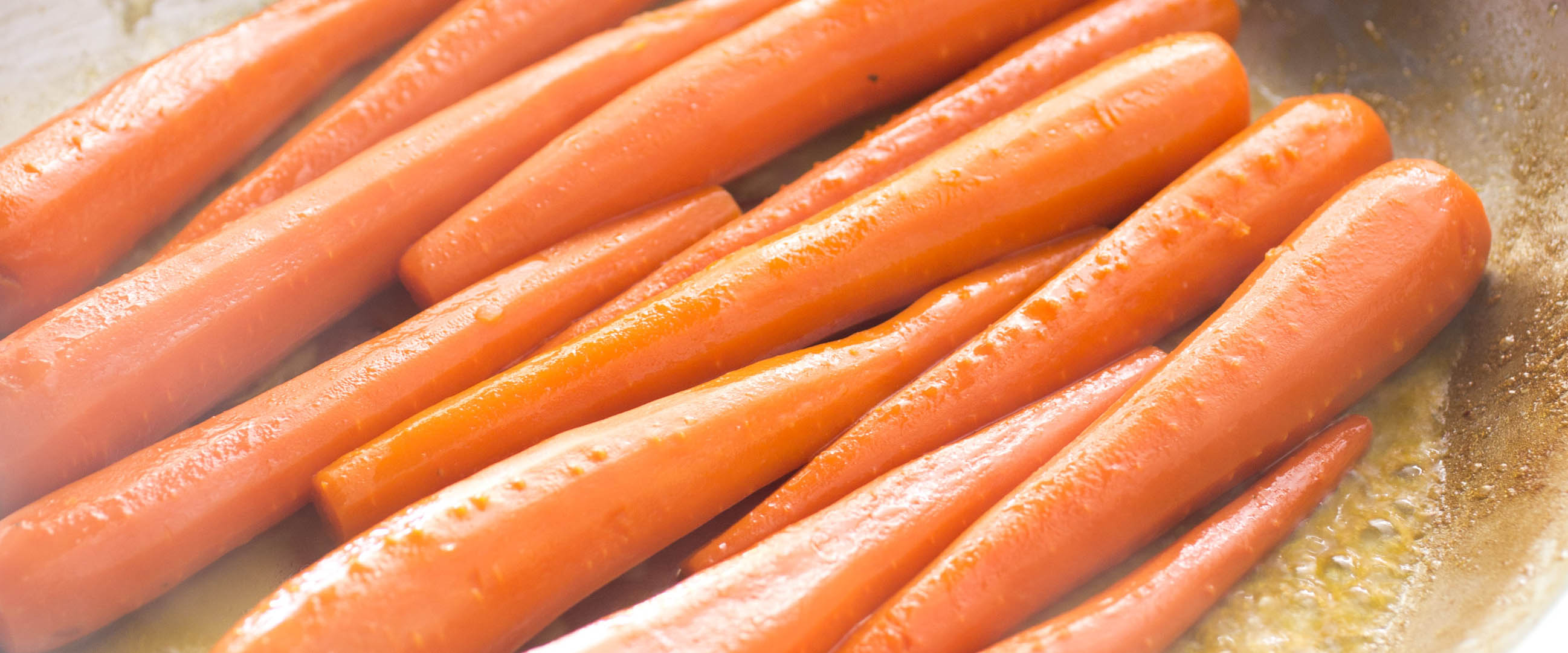 Slow-Cooked Whole Carrots