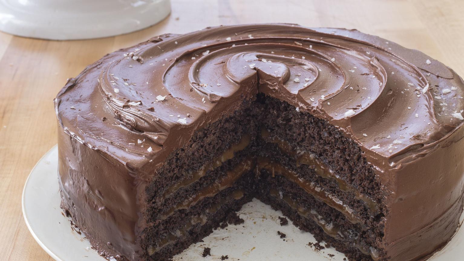 Chocolate Salted Caramel Cake America
