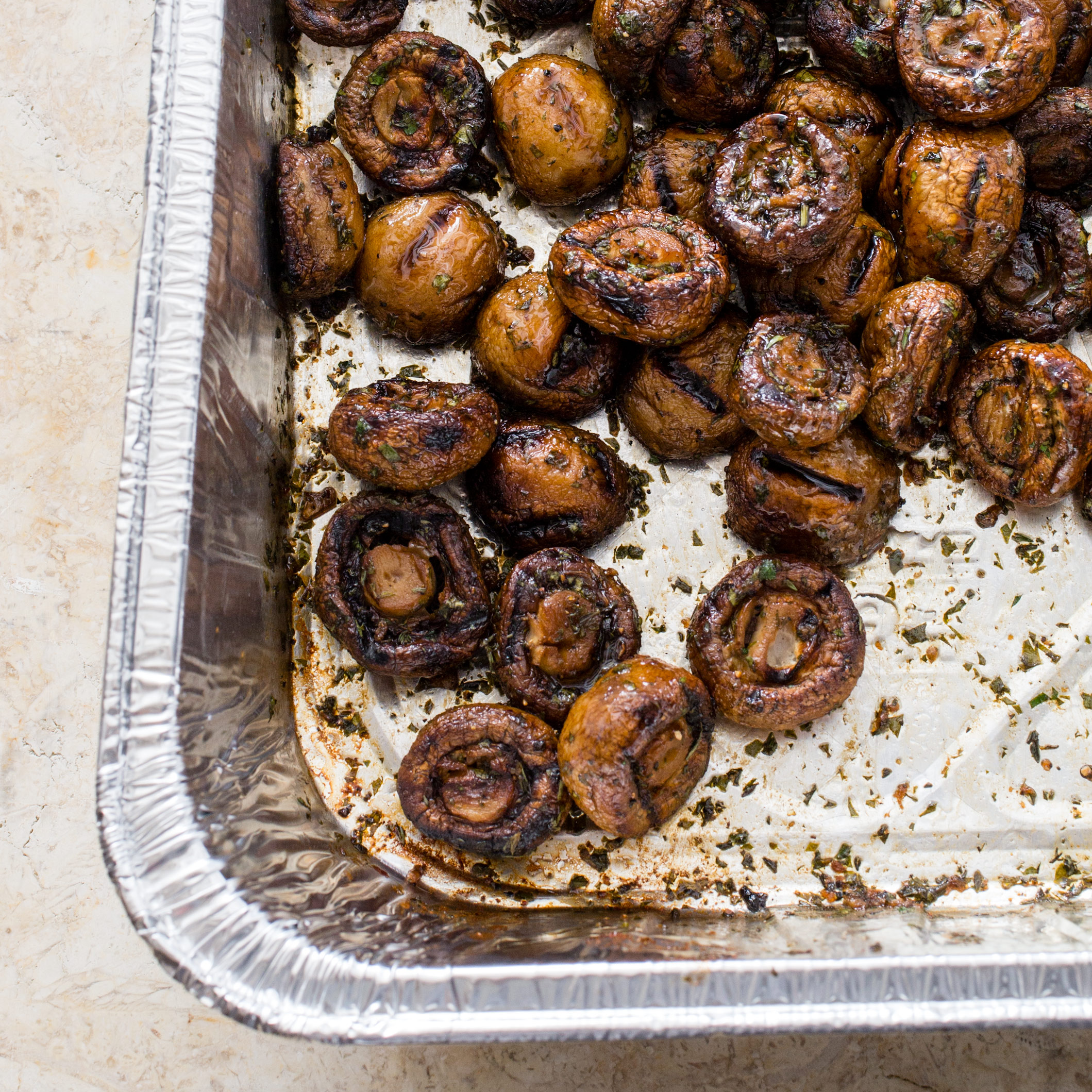 Grilled Button Mushrooms Cook S Country