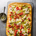 Margherita Pizza with Pesto