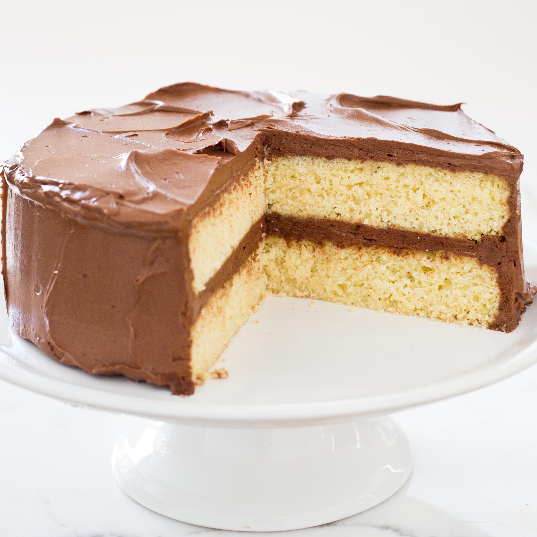 Gluten-Free Yellow Layer Cake   America\'s Test Kitchen