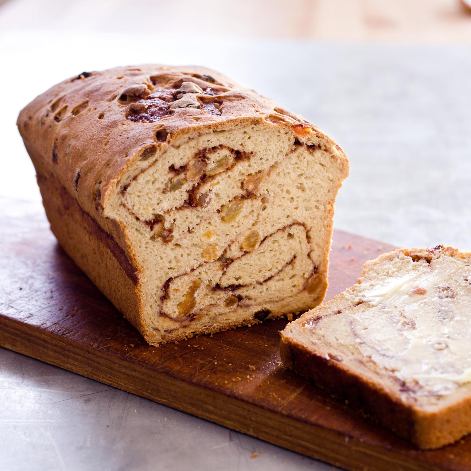 Gluten-Free Cinnamon-Raisin Bread | America's Test Kitchen