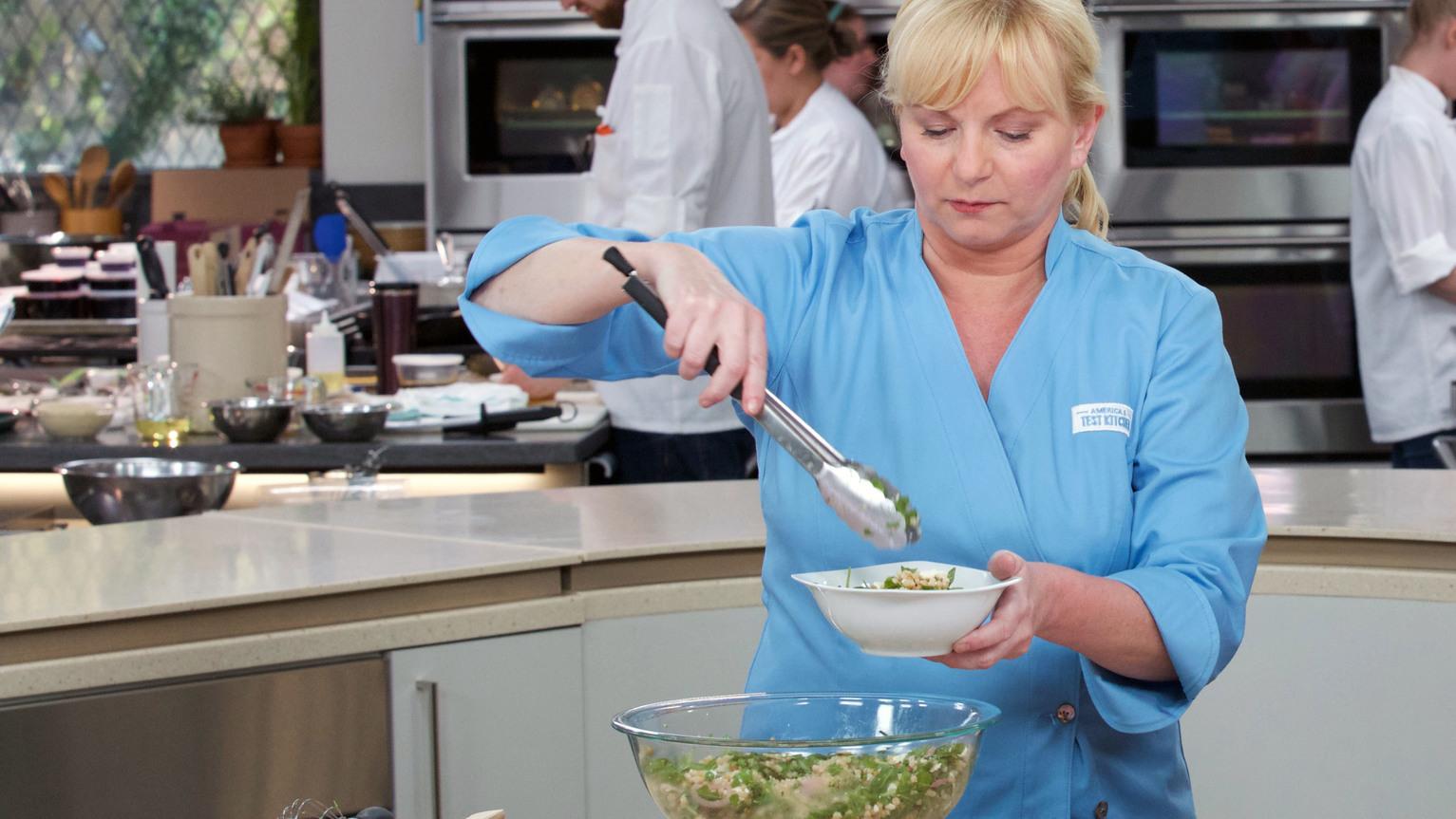 Israeli Couscous Salad America S Test Kitchen