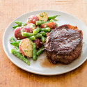 Steak with Dijon Green Bean-Potato Salad