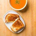Grilled Cheese with Tomato Soup For Two