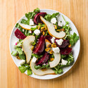 Marinated Beet Salad with Pear and Feta