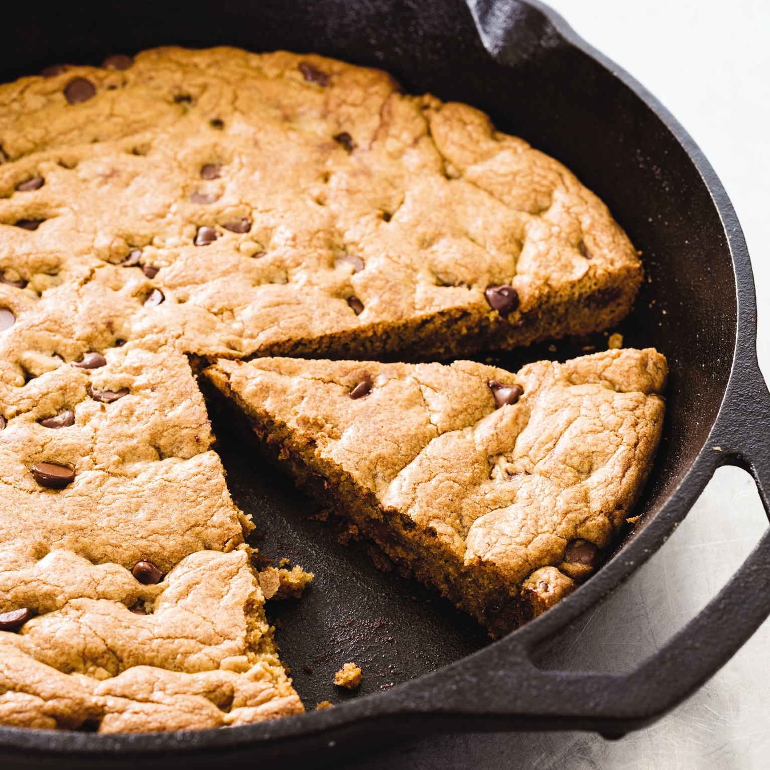 how to cook cookies in a skillet