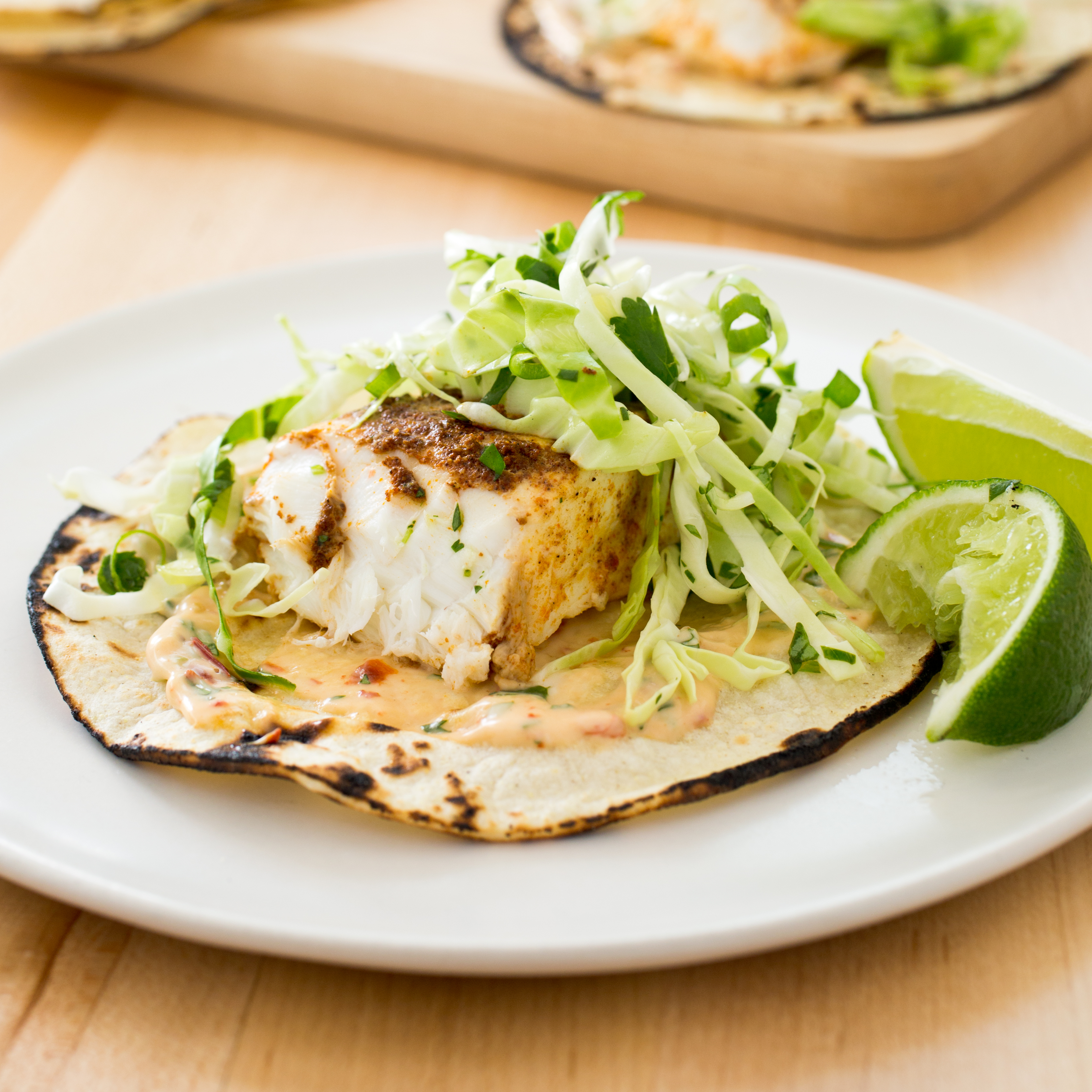 Slow cooker california style fish tacos america 39 s test for How to cook fish tacos