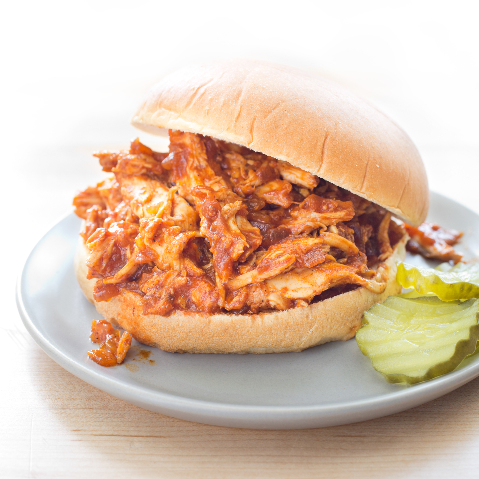 Slow-Cooker Sweet and Tangy Pulled Chicken | America's Test Kitchen
