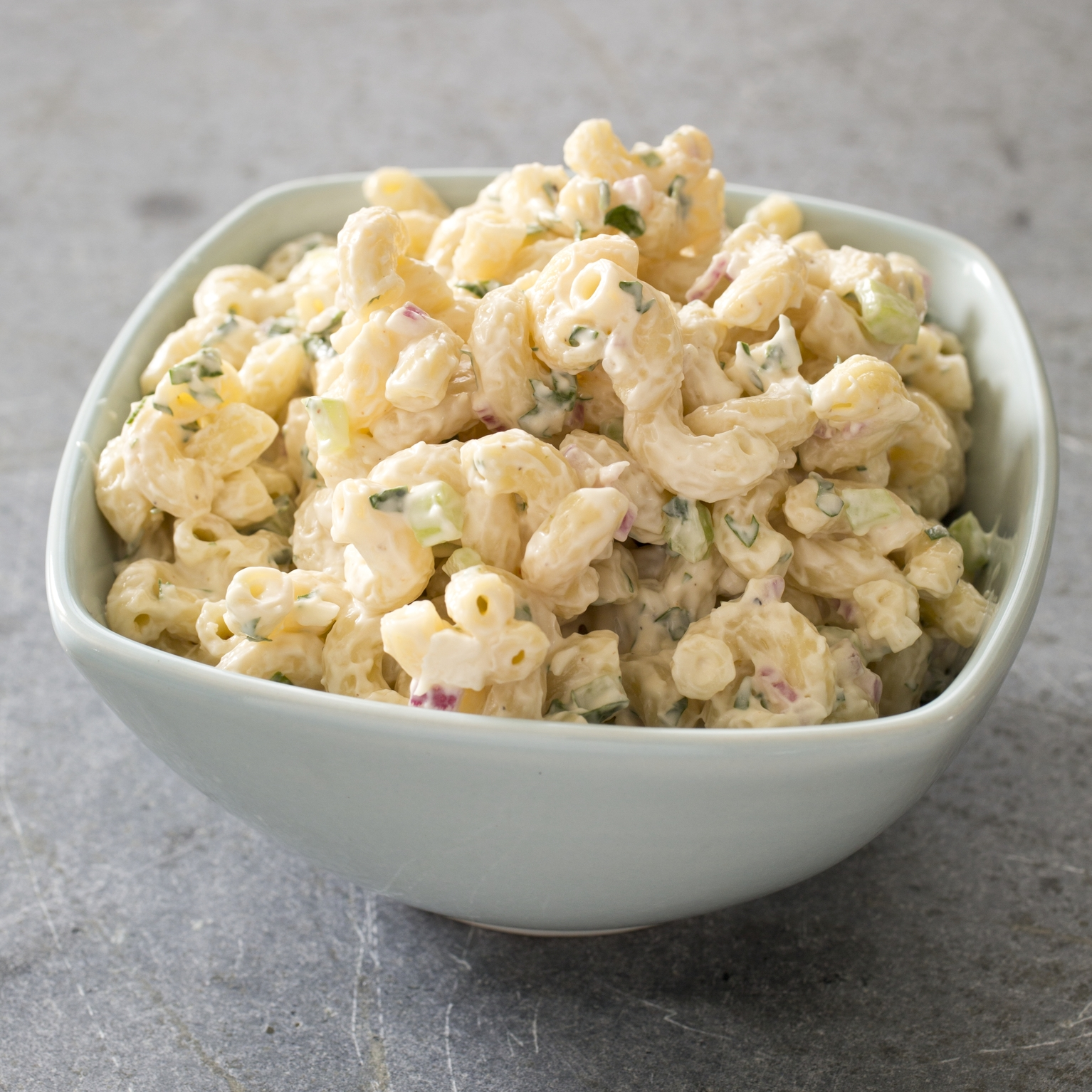 Cool and Creamy Macaroni Salad