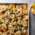One-Pan Mediterranean Shrimp