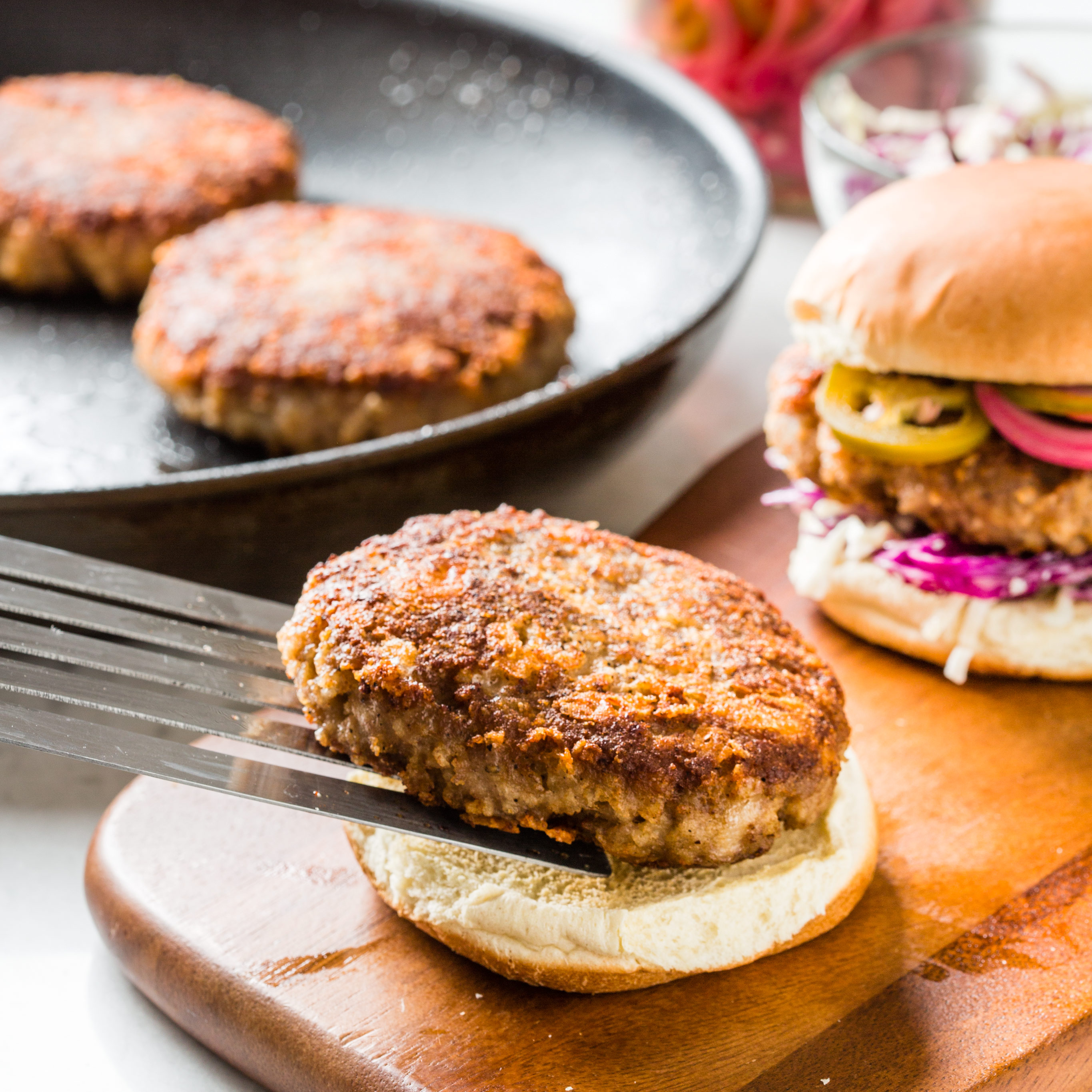 Crispy Skillet Turkey Burgers Cook S Country